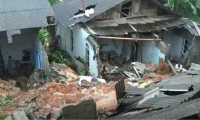 Banjir-Longsor Hantam Tanjungpinang, 14 Rumah Rusak, Puluhan Warga Terpaksa Mengungsi