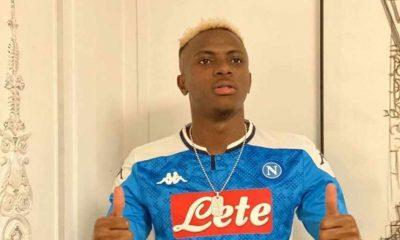 Sepulang dari Belgia, Striker Napoli Osimhen Dinyatakan Positif COVID-19