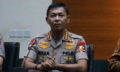Kapolri Idham Azis Sudah Kirim Surat Permohohan Penggantian ke Jokowi