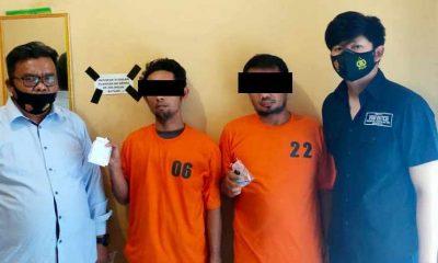 Lagi Asik Pesta Narkoba, Dua Pegawai RSUD Rantauparapat Ditangkap Polisi