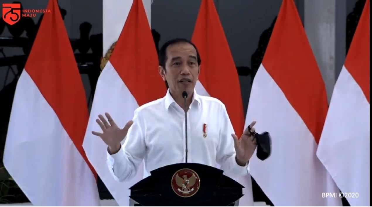 Presiden Minta Kepala Daerah Manfaatkan APBD Perbanyak Program Padat Karya