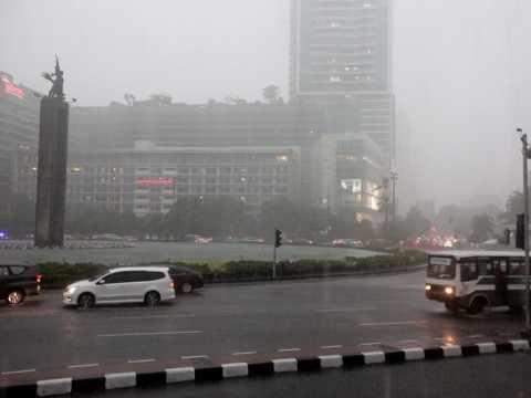 BMKG : Waspada Hujan Akan Guyur Jakarta Nanti Malam