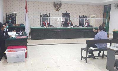 Hakim Sebut Terdakwa, Jonas Salean Kurang Berdoa