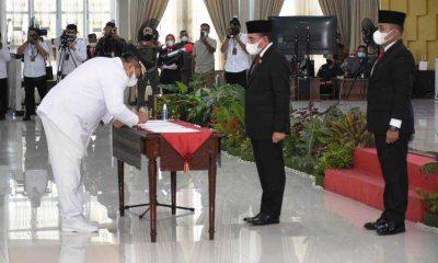Surya-Taufik, Bupati dan Wakil Bupati Asahan 2021-2024