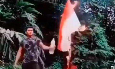 Pelaku Pembakar Bendera Merah Putih Terindentifikasi, Polisi Kerjasama dengan Interpol