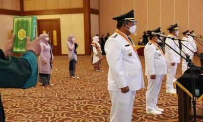 Saat Lantik Anaknya Jadi Wakil Bupati Bintan, Gubernur Kepri Berpesan Sering Turun Ke Masyarakat