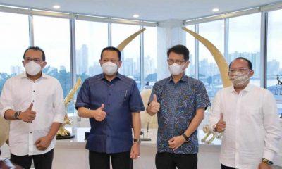 Bambang Soesatyo: Bertemu Dirut Indofarma, Bamsoet Dorong Perbanyak Fasilitas Swab Drive Thru