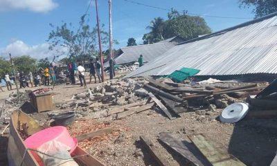Gempa Di Kabupaten Halsel, Hingga Pagi Ini Tercatat 60 Rumah Rusak