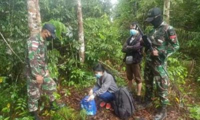 Nekat Terobos Hutan Belantara Demi Masuk Ke Serawak Malaysia, 6 Pekerja Migran Diamankan Satgas PAMTAS