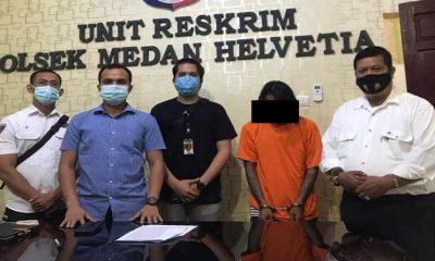 Polisi Akhirnya Berhasil Menangkap Buronan Spesialis Pembobol Rumah di Medan