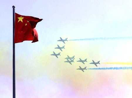 Belasan Jet Tempur China Lakukan Gerakan Penjepit di Atas Langit Taiwan