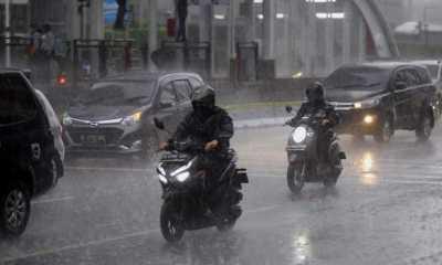BMKG : Jakarta, Depok dan Bekasi Berpotensi Hujan Hari Ini