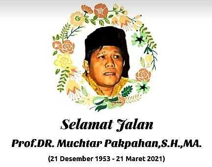 Tokoh Pejuang Buruh Prof. Dr. Muchtar Pakpahan SH, MA,Telah Pergi Untuk Selamanya