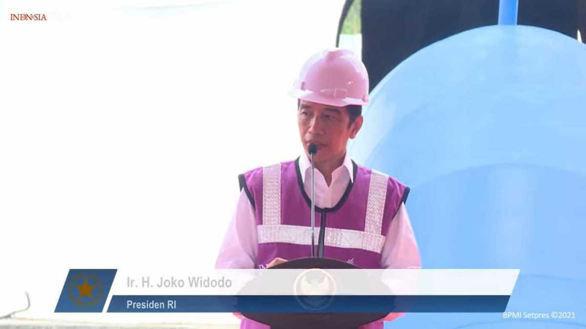 Presiden Jokowi : SPAM Umbalan Harus Masuk Rumah Warga