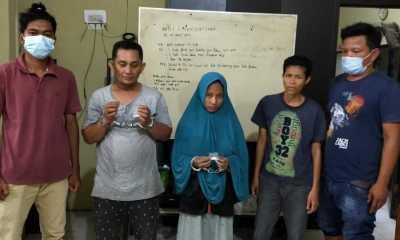 Jadi Kurir Shabu,Satu Orang laki-laki dan Dua Orang PerempuanWarga Kota Tanjungbalai Akhirnya Manginap di Polres Tanjungbalai