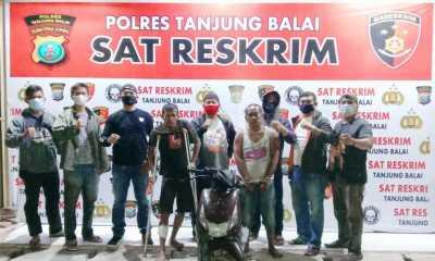 Dua Orang Pelaku Curanmor Keok Ditangan Tekab Sat Reskrim Polres Tanjungbalai, Satu orang diberi 'kado' timah panas