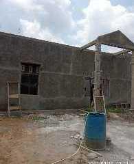 Anggaran Dipakai Untuk Covid, Pembangunan Balai Desa Batang Pane II Terkendala