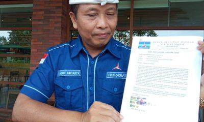 Tuduh Illegal, Ketua DPD Bali Menolak KLB Partai Demokrat