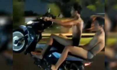 Polisi Mengaku Telah Mengantongi Identitas 2 Remaja Viral Boncengan Motor Dengan Memakai Celana Dalam