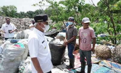 Pastikan Sampah Terkelola Dengan Baik, Bupati Asahan Tinjau TPA Sei Renggas