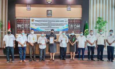 Dinas PUPR Teken MoU Dengan Kejari Kabupaten Kupang