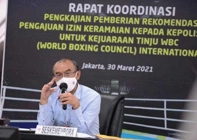 Kemenpora Belum Bisa Keluarkan Rekomendasi Kejuaraan Tinju WBC di Indonesia