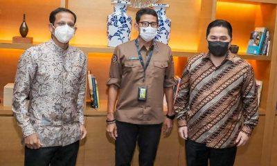 Tiga Menteri Muda Indonesia Berdiskusi Bahas Infrastruktur Pariwisata