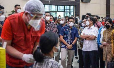 Tiga Ribu Pelaku Pariwisata Provinsi Sulut Jalani Vaksinasi
