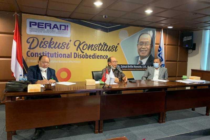 PERADI Perlu Rumuskan Sanksi Pembangkangan konstitusional