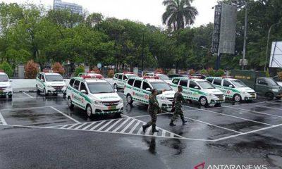 Bantu Penanganan COVID-19, Kodam XIV/HSN Alokasikan 15 Unit Ambulans