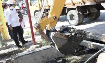 Pemkot Tanjungbalai Normalisasi Saluran Drainase di Kecamatan Datuk Bandar