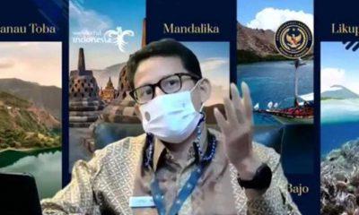 Menparekraf Dorong Generasi Muda Jadi Agen Perubahan di Tengah Pandemi
