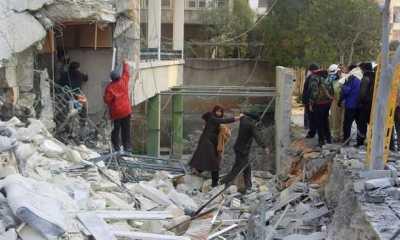 Tembakan Artileri Tentara Suriah Hantam Rumah Sakit, Tujuh Warga Sipil Tewas