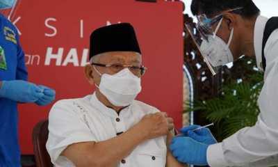 Wapres Ma'ruf: Dari Segi Agama, Vaksinasi Fardu Kifayah