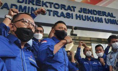 AHY Boyong 34 Pimpinan DPD Partai Demokrat Ke Kemenkumham