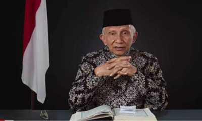 Amien Minta Jokowi Mandiri Tak Bergantung Pada Cukong