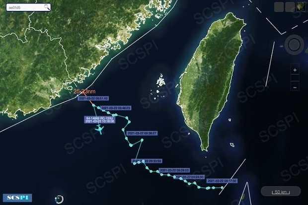AS Semakin Nekat, Pesawat Mata-matanya Dekati China dalam Jarak 46,8 Km