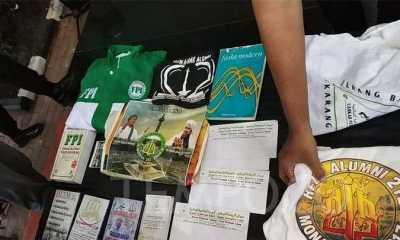 Densus 88 Temukan Atribut FPI Saat Geledah Rumah Tersangka Teroris di Condet