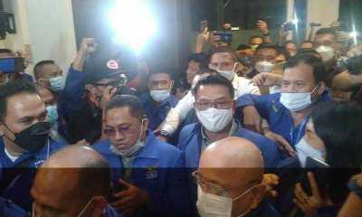 Ratusan Barisan Pemuda dan Mahasiswa Pilar Demokrasi di Medan Dukung Moeldoko