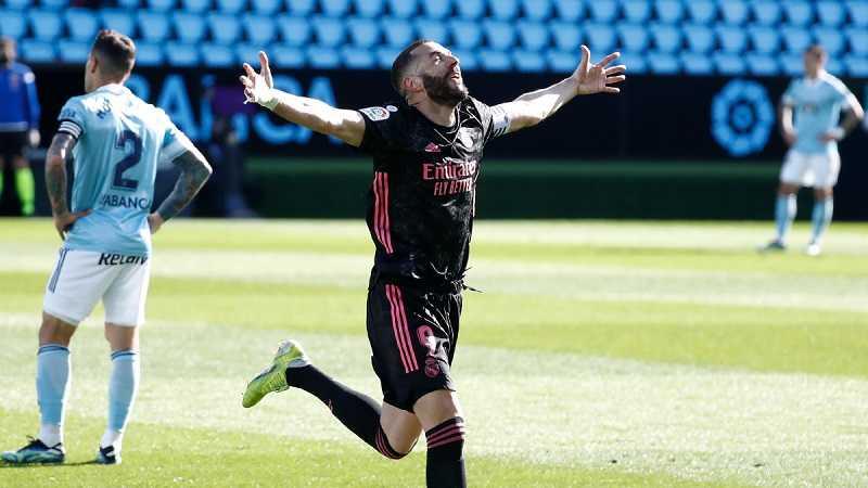 Tumbangkan Celta Vigo, Real Madrid Pangkas Jarak dengan Atletico