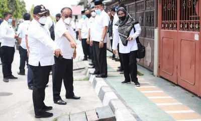 Jaga Keindahan, Pemkot Tanjungbalai akan Cat Trotoar