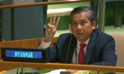 Dubes Myanmar di PBB Mendesak Dunia Perkuat Tekanan Terhadap Junta Militer