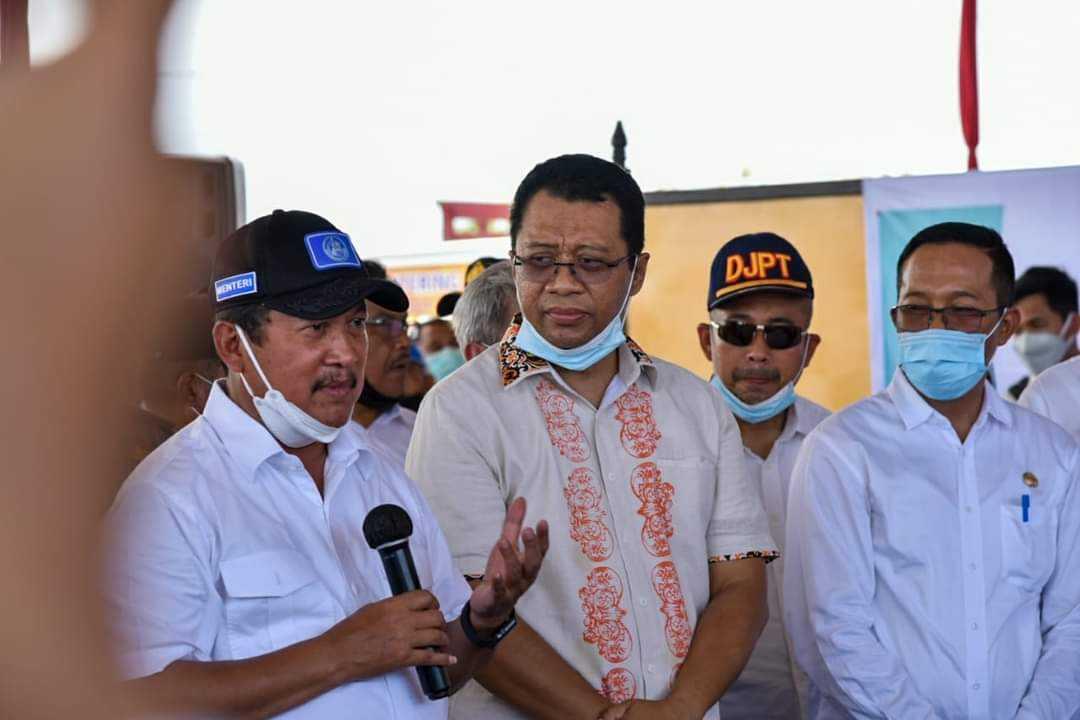 Budidaya Lobster Melimpah di NTB, Ini Rencana Menteri KKP Sakti Wahyu Trenggono