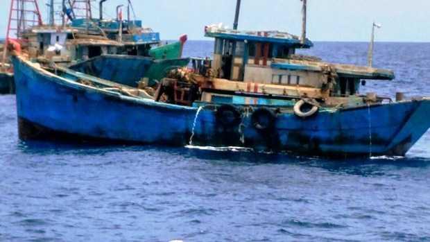 Dalam 2 Hari , KKP Tertibkan Delapan Kapal di Laut Natuna dan Perairan Madura