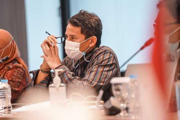Eksekusi Instruksi Jokowi, Menparekraf Sandiaga Uno Kembangkan Pulau Weh dengan Investasi UEA