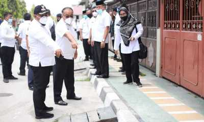 Pemkot Tanjungbalai Bakal Benahi Trotoar di Sepanjang Jalan Jenderal Sudirman