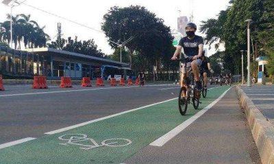 Polisi Bakal Sanksi Pesepeda yang Keluar dari Jalur Khusus Sepeda