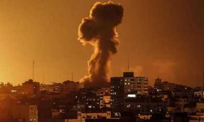 Israel Bombardir Pos Militer Hamas di Jalur Gaza