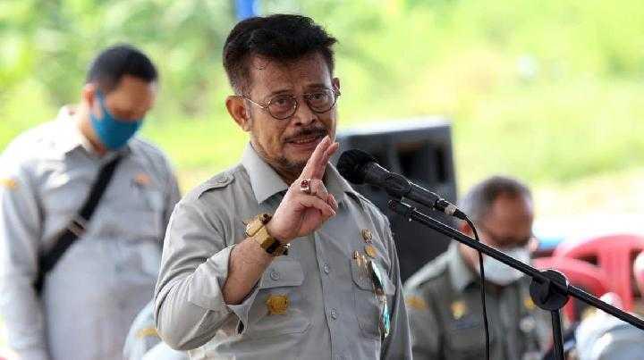 Berperan Dalam Pembangunan, Mentan Sebut Petani Pahlawan Pangan Indonesia