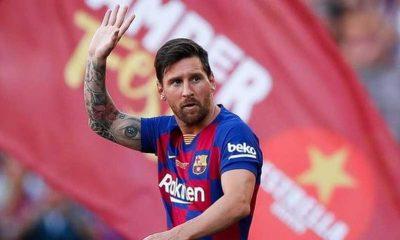 Barcelona Larang Messi Ikut Latihan Bersama